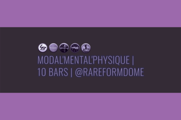 Modal'Mental'Physique | 10 Bars | Featured Image