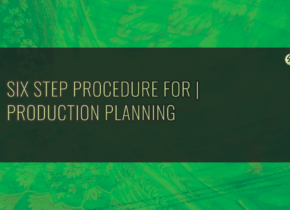 Six Step Procedure For Production Planning