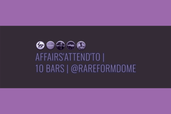 Affairs'Attend'To | 10 Bars | Featured Image