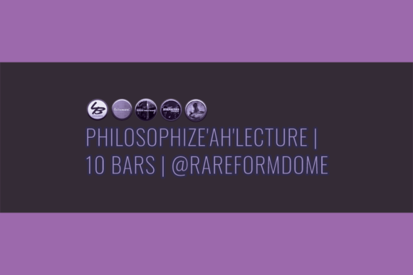 Philosophize'Ah'Lecture | 10 Bars | Featured Image