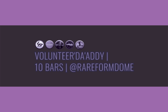 Volunteer'Da'Addy | 10 Bars | Featured Image