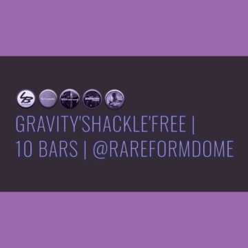 Gravity'Shackle'Free | 10 Bars | Featured Image